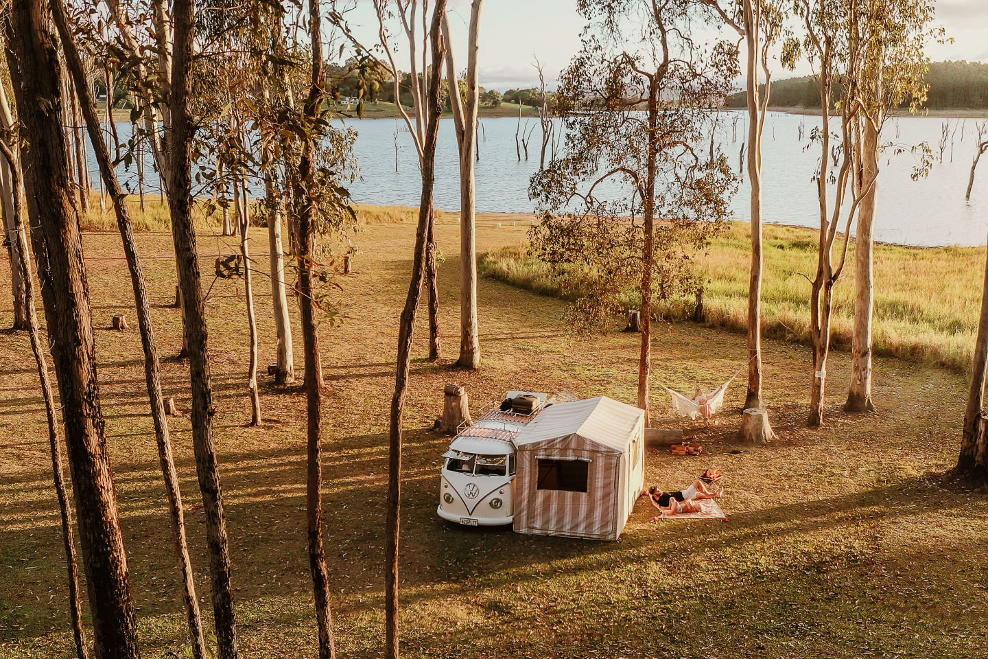 Campervan by the Water
